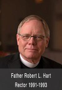 Father Robert L. Hart Rector 1991-1993