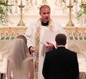 Image result for priest at wedding